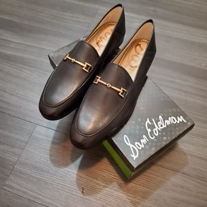 Sam Edelman Loraine Black Leather Loafers